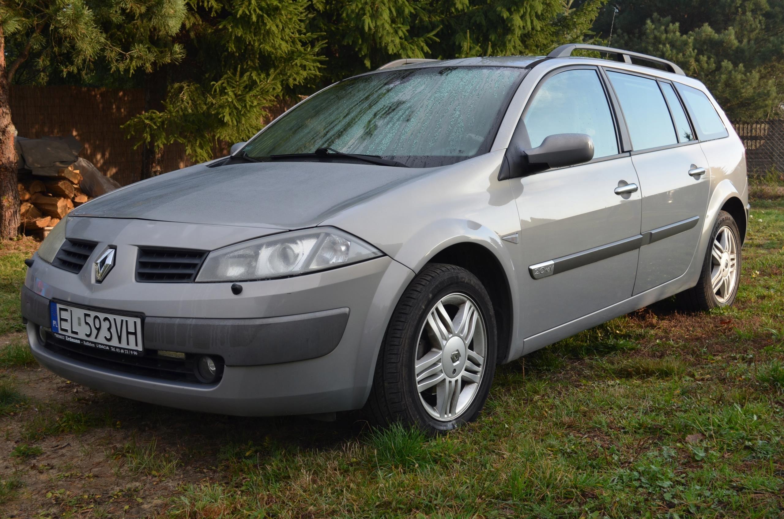 Renault Megane Ii Kombi Benzyna Gaz Opinie I Ceny Na Ceneo Pl