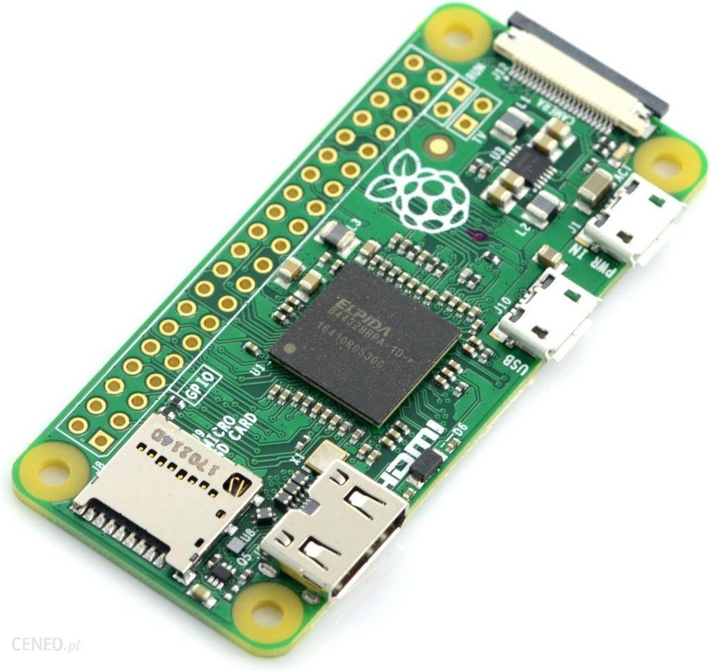 Mikrokontroler Raspberry Pi Zero V1 3 512mb Ram Rpi05215 Opinie I Ceny Na Ceneo Pl