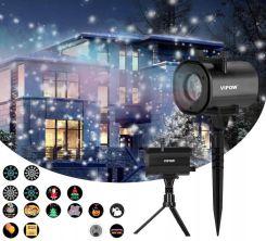 Super Projektor Laserowy 3d Rzutnik Ip44 4w1 4xled Opinie I Atrakcyjne Ceny Na Ceneo Pl