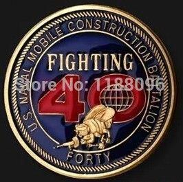 36ea4af2e15c AliExpress Gorąca sprzedaż Metalowe Rzemiosło Wojskowe Monety  Okolicznościowe US Naval milatary monety kowalstwo medale medale Hurtowy