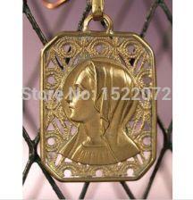 17dc69a03a31 AliExpress Niska cena niestandardowy ANTYCZNE RELIGIJNE PORTRET FELIGREE  MOSIĄDZU tanie custom made 3D złote medale MEDAL
