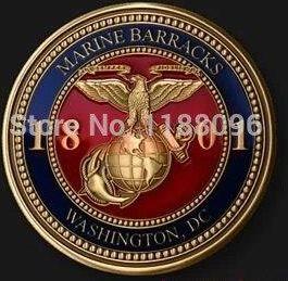 3a593c92ff92 AliExpress Hot sprzedaż Metal Miedź monety tanie Monety Okolicznościowe  marine barracks medale Hurtownie klienta 3D złoty