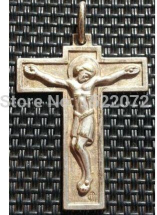 6368160b1d60 AliExpress Niska cena Wspaniały ANTYCZNY MOSIĄDZ KRZYŻ KRUCYFIKS medale  MEDALE tanie zwyczaj 3D jezus krzyż medale