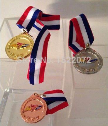 ccc82c3d9046 AliExpress Wysoka jakość i niska cena TaeKwon Zrobić WTF Medal ZŁOTO SREBRO  BRĄZ konkurs tanie zwyczaj