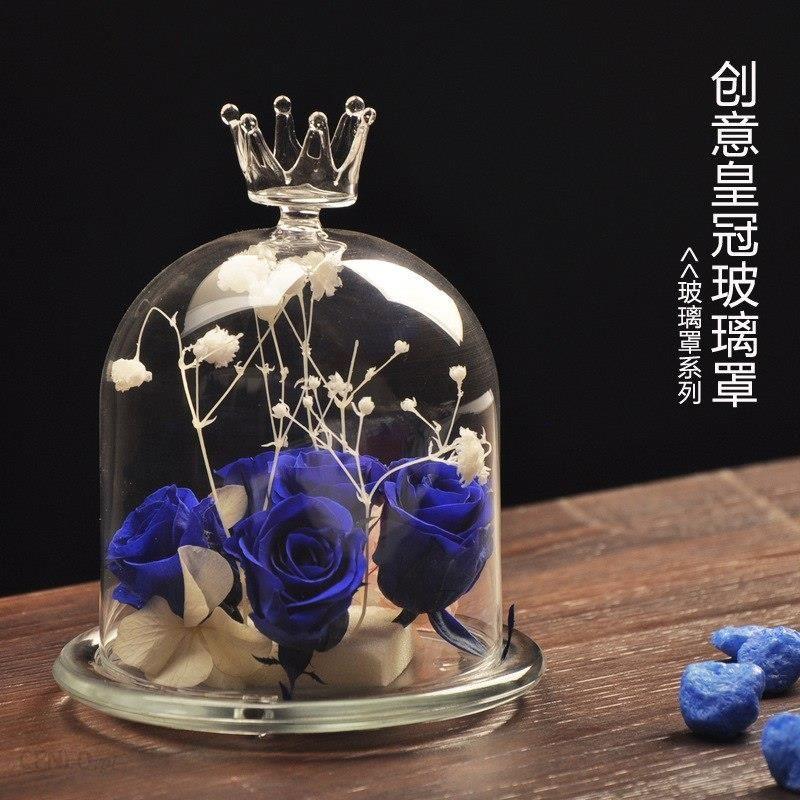 Aliexpress O Roselif Handmade Anioł Szklanym Wazonie Pokrywa