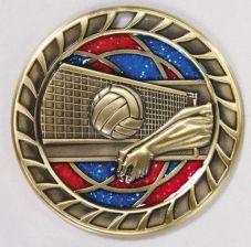 e06ec564b249 AliExpress Niska cena siatkówki sportowe medale medale medale duży rabat  dla szkół hurtowych złota z blue