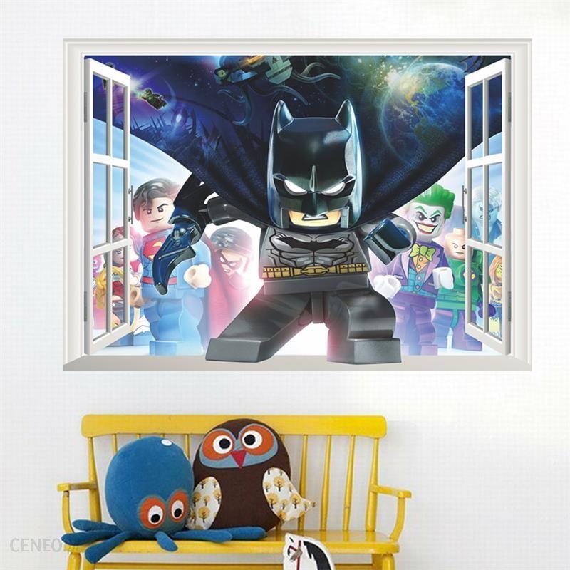 Inteligentny AliExpress Lego Batman Super Heros Okna Naklejki Ścienne Dla BE55