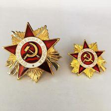 853fc0a0978c AliExpress 2 części partia Rosja Cccp medal Metalowe Odznaki na ubrania ww2  ZSRR Radzieckie Wojskowe