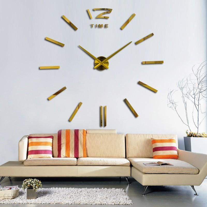 Aliexpress 2018 Akryl Horloge Naklejki 3d Diy Akrylowa Lustro Zegarek Zegary ścienne Zegar Dekoracji Salonu Kwarcowy Darmowa Wysyłka Ceneopl