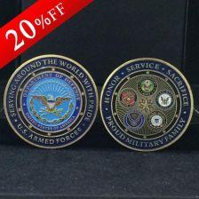 ea631ed01db1 AliExpress 5 sztuk partia USA Wojskowe Sił Zbrojnych Rodzina Metalowe  monety Amerykański Wyzwaniem Monety pamiątkowe