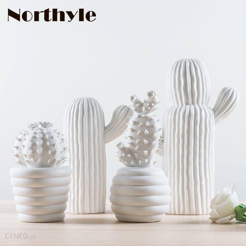 Aliexpress Nowoczesne Białe Ceramiczne Kaktus Dekoracji Xmas Prezent Figurki Porcelany Sztuki Rzemiosła Dla Domu Ornament Akcesoria Feng Shui Wystrój