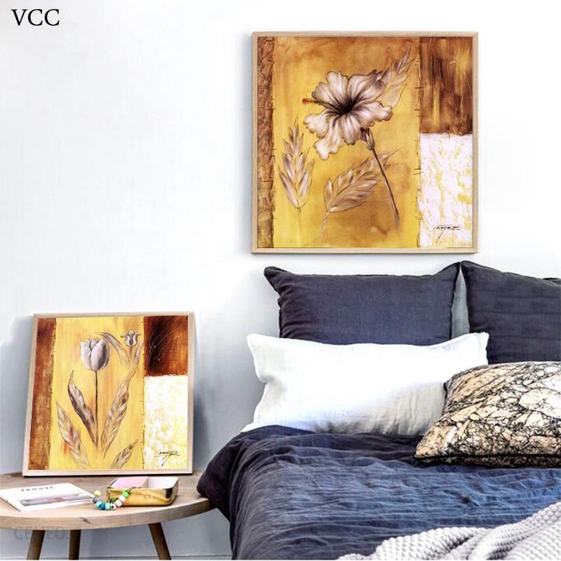 Aliexpress Vcc Kwiat Na Płótnie Płótno Obrazy Na ścianie Zdjęcia