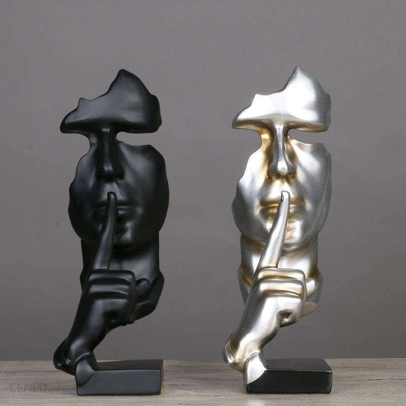 Aliexpress żywiczne Figurki Dekoracyjne Rzeźby Abstrakcyjne Rzemiosło Prezenty świąteczne Ludzki Model Twarz Z Ręcznie Wystrój Domu Lanego Rysunek Spr