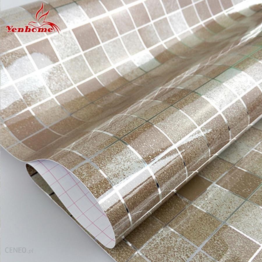 Aliexpress Nowoczesne Pcv Samoprzylepne Tapety łazienka Wall Paper Kuchnia Wodoodporna Mozaika Naklejki Vinyl Home Decor Naklejki ścienne Ceneopl
