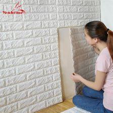 Aliexpress 70 Cm X 77 Cm Pianka Pe Dekoracyjne 3d Naklejki Samoprzylepne Tapety Diy Cegły Salon Dzieci Safty Sypialnia Wystrój Domu Naklejki ścienne