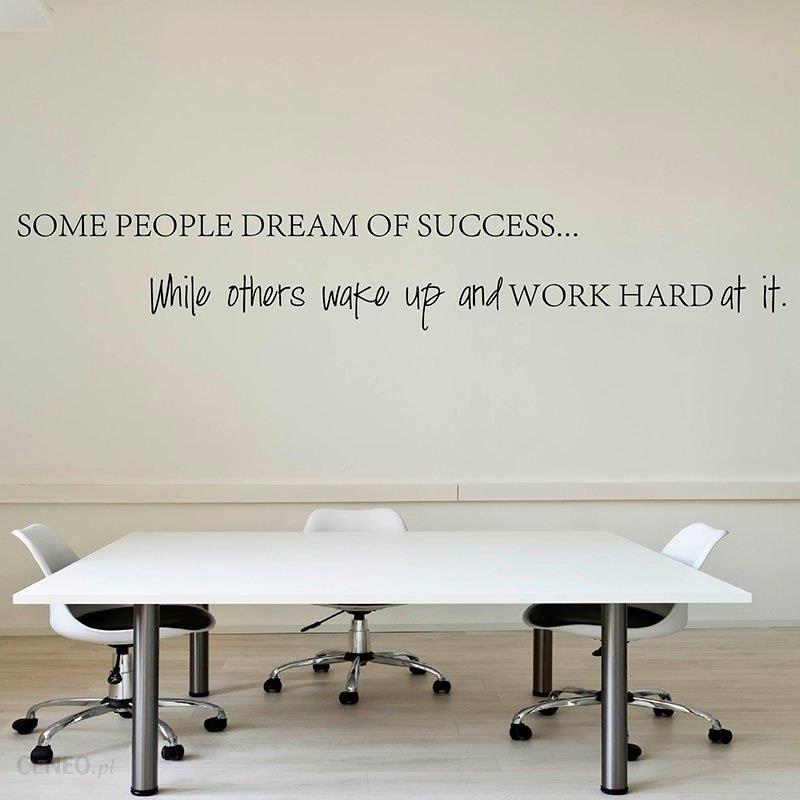 Aliexpress Wake Up Ciężko Pracować W Swoich Marzeń Motywacyjne Inspirujące Cytaty Naklejki ścienne Diy Dekoracyjne Cytat Naklejka Biurowe Q153