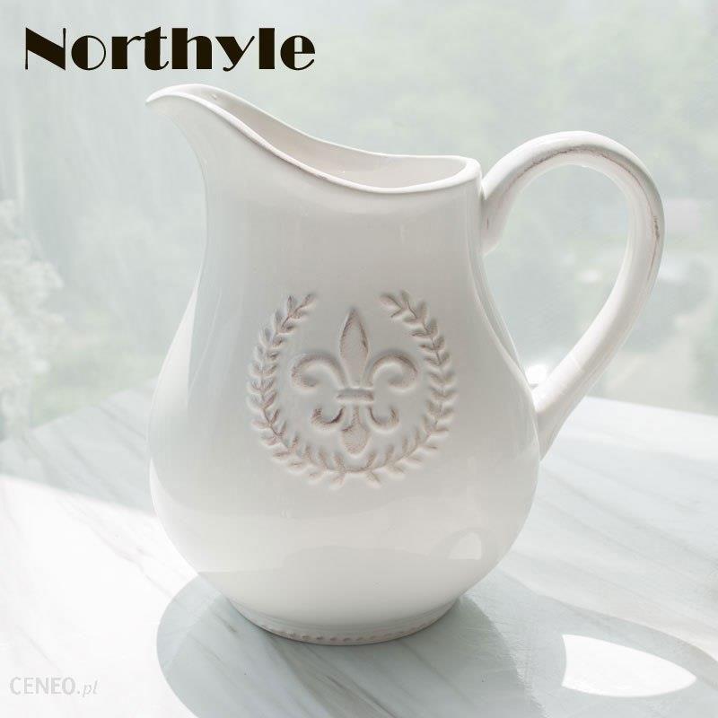 Aliexpress Europa Pszenicy Motyw Biały Ceramiczny Wazon Dekoracji Domu ślubu Dekoracji Sztuczny Kwiat Wazon Wazony Porcelanowe Ceneopl