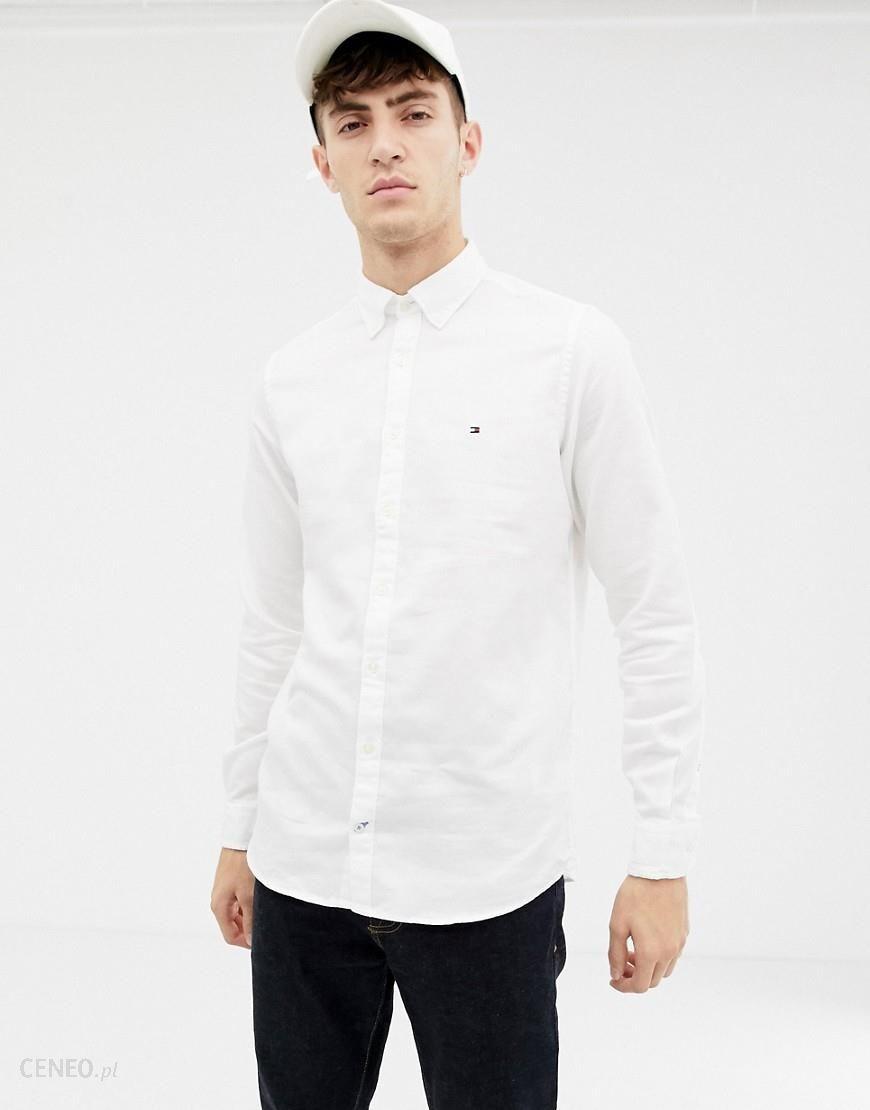 e4bf85f8cba5 Tommy Hilfiger slim fit dobby shirt - White - zdjęcie 1
