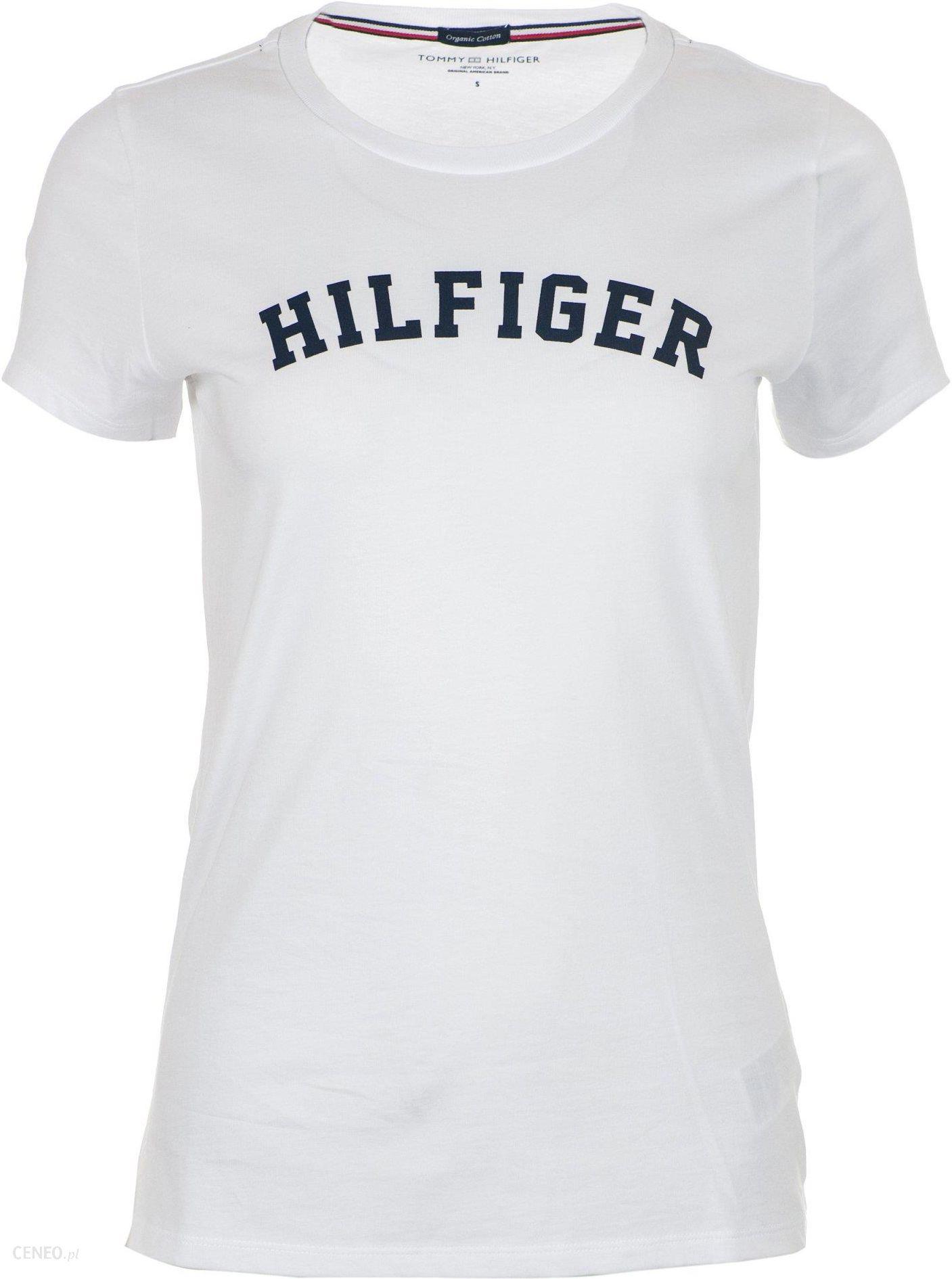 0c671fadf6573 Tommy Hilfiger T-shirt damski L biały - Ceny i opinie - Ceneo.pl