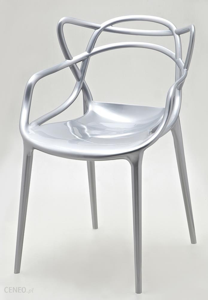 King Home Błyszczące Krzesło Do Kawiarni Z Tworzywa Sztucznego Luxo