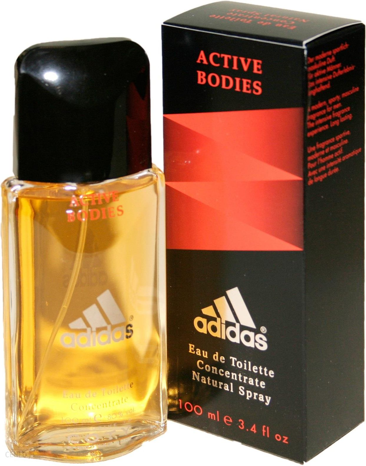 ADIDAS ACTIVE BODIES CONCENTRATE EDT 100ml PERFUMY