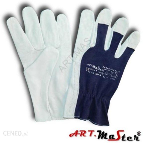 55d2a19b391821 Art Master Rękawice Robocze Wzmocnione Skórą Licową Rtopper Kat - zdjęcie 1