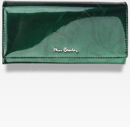 4bc89c62074f6 Portfel Damski Pierre Cardin Skórzany Zielony w Liście 100