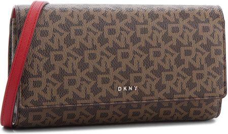 7b58df7f4c Torebka DKNY - Bryant Wallet On String R835J622 Mocha Logo Rog M68 eobuwie