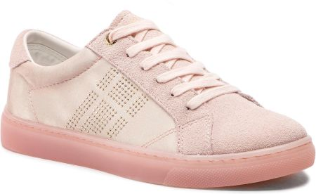 9d551226f292e Sneakersy TOMMY HILFIGER - Sparkle Satin Essential Sneaker FW0FW03694  Silver Peony 658 eobuwie
