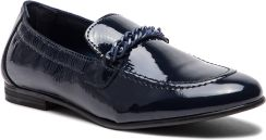 5402d1a016037 Lordsy TOMMY HILFIGER - Rubberized Chain Loafer FW0FW03763 Tommy Navy 406 -  zdjęcie 1