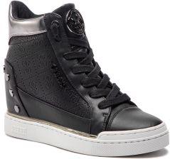c8c2a0fc409c8 Sneakersy GUESS - FL5FNL FAL12 BLACK eobuwie