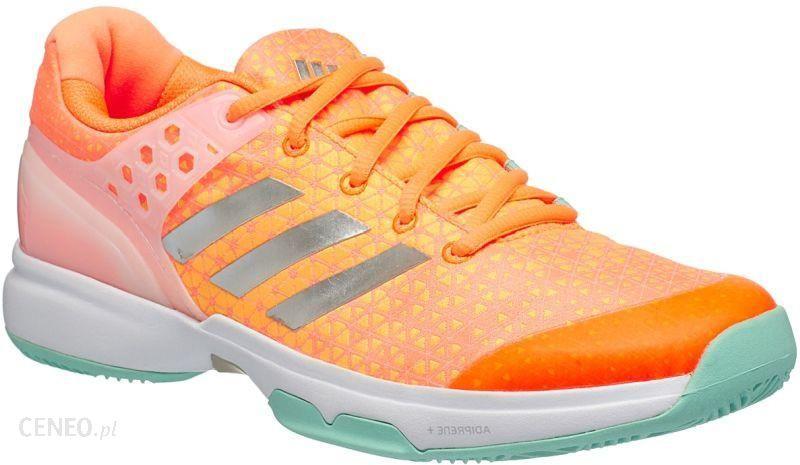 Adidas Adizero Ubersonic 2 W Glow OrangeSilverMetallicSamba Blue Ceny i opinie Ceneo.pl