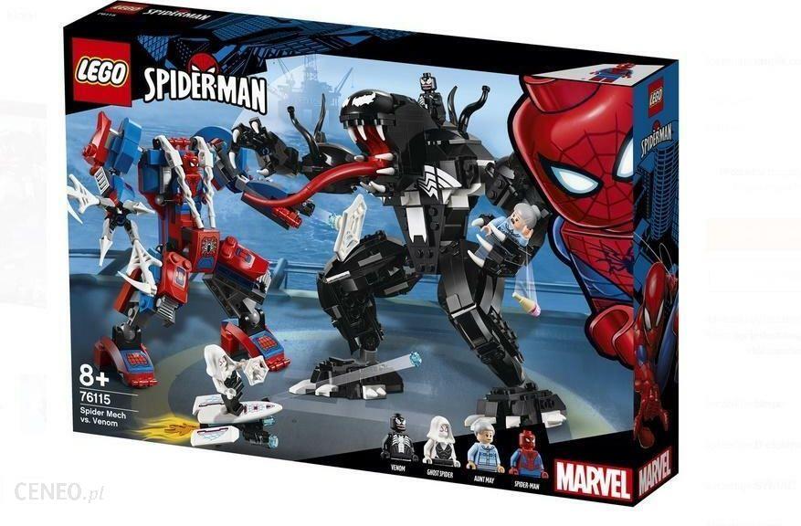 17f9dedfb Klocki Lego Marvel Spiderman Pajęczy Mech Kontra Venom 76115 - Ceny i  opinie - Ceneo.pl