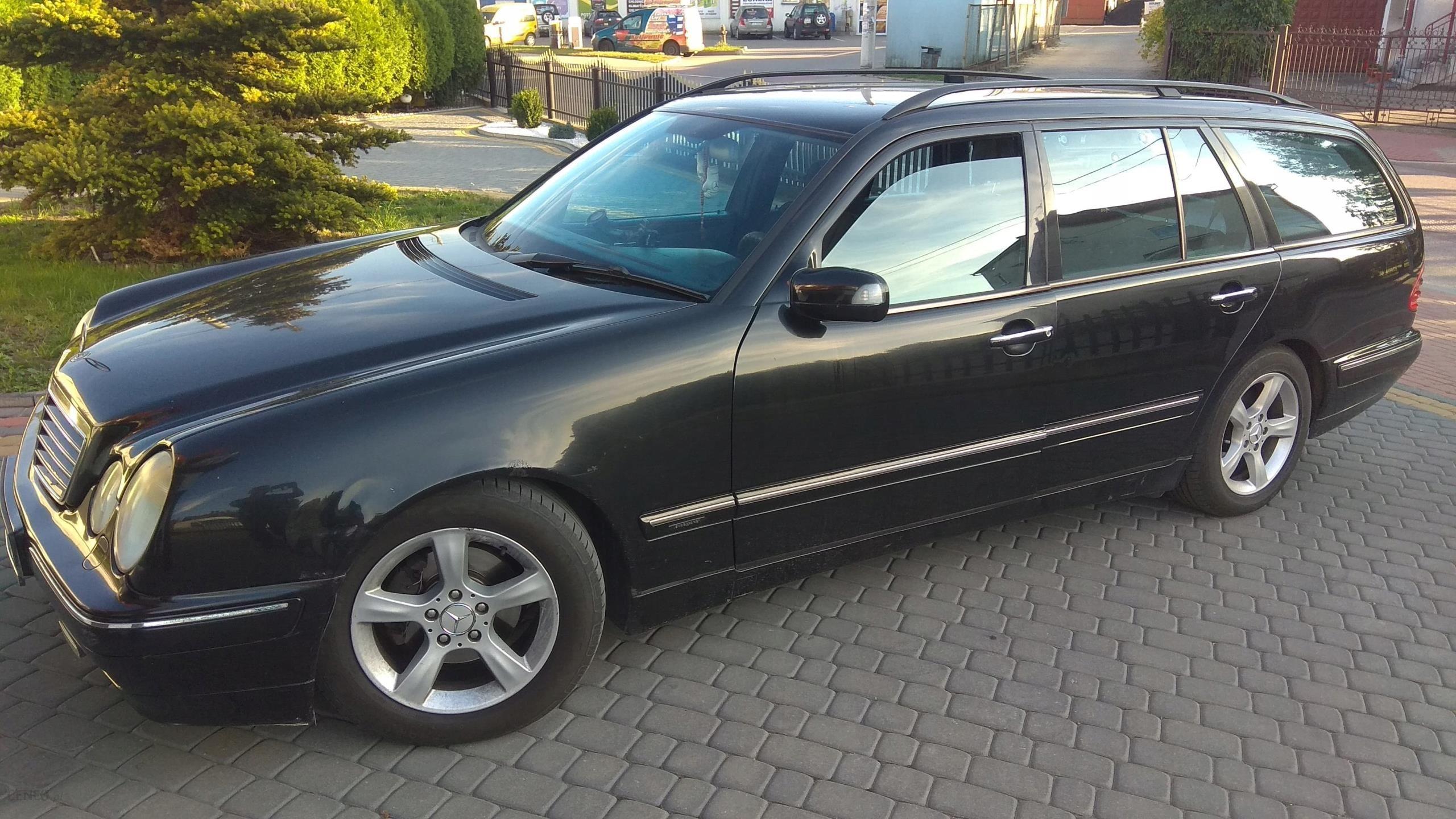 Mercedes E Klasa W210 2 2cdi Avantgarde 7 Osobowy Opinie I Ceny Na Ceneo Pl