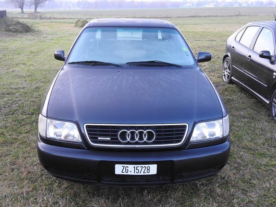 Audi A6 C4 2 8 V6 Limo Quattro Automat Super Stan Opinie I Ceny Na Ceneo Pl