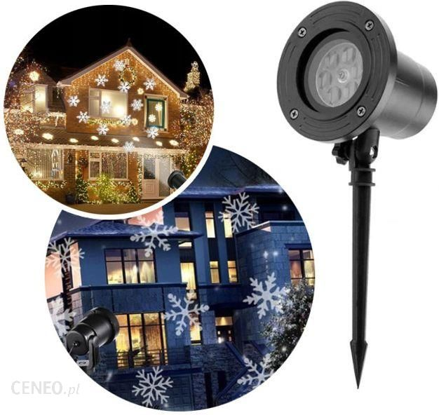 Elektrostator Projektor Laserowy świąteczny Na Dom Wodoodporny Biała śnieżka G233 Opinie I Atrakcyjne Ceny Na Ceneo Pl