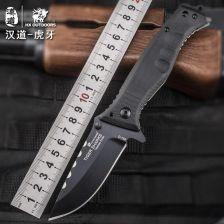 ac64dc94cd04 AliExpress HX psich zębów stali D2 tactical armia OUTDOORS wysokiej jakości  twardość nóż dzikie narzędzie samoobrony