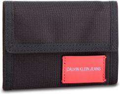 b1776067bec5c Duży Portfel Męski CALVIN KLEIN JEANS - Sp Essential + Canvas Billfold  K40K400841 001 eobuwie