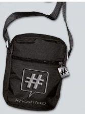 6221d36319507 Torebka na ramię męska Hashtag