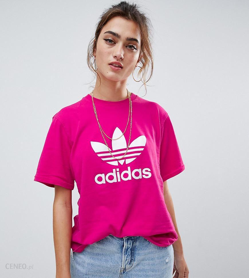 Adidas Originals Trefoil Logo T Shirt In Pink Pink Ceneo.pl