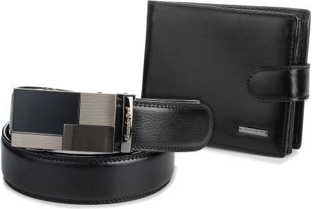 1f28b21dc56c8 Damski portfel VIP Collection kolekcja multikolor czarny z kolorowym ...