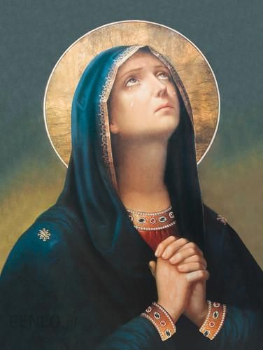 Drukarnia Garmond Plakat Religijny Matka Boska Bolesna Pr086 Ceny I Opinie Ceneopl