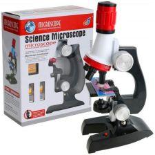 Elektrostator Mikroskop Dla Dzieci 1200X 400X Zestaw + Akcesoria Światło Y94