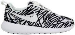 Buty sportowe damskie Nike Roshe One Print czarno białe 39