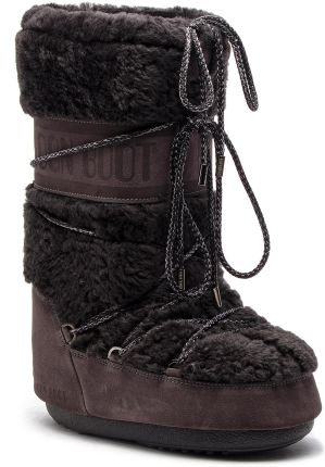 Śniegowce MOON BOOT - Wool 14024400002 Anthracite D eobuwie e7201d8ed0
