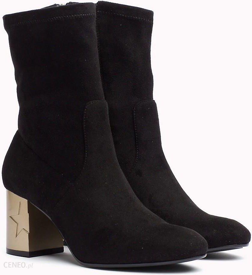 6372fa1a2a6f4 Tommy Hilfiger czarne buty na obcasie Melis 1D Black - 41 - Ceny i ...