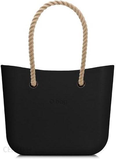 17447e018a353 O bag torebka MINI Nero z długimi linami natural - Ceny i opinie ...