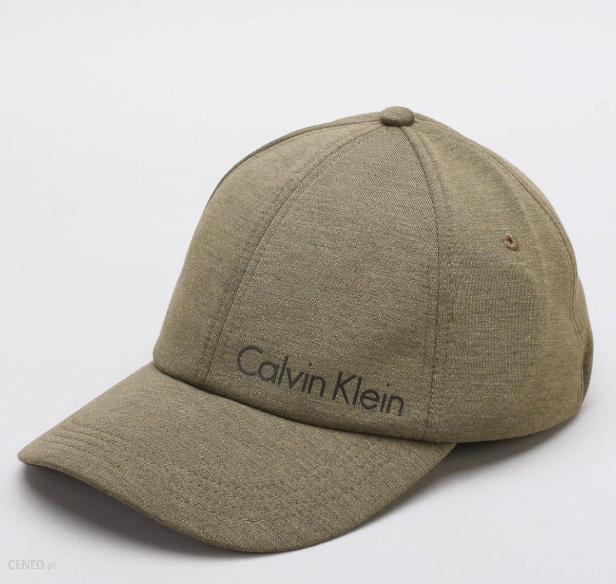 ad94628c5 Calvin Klein khaki czapka z daszkiem Space Cap - Ceny i opinie ...