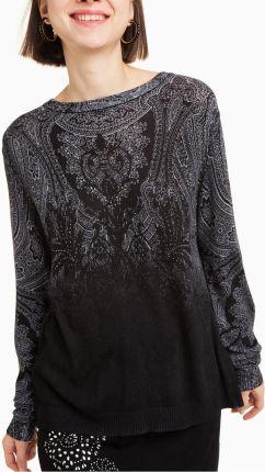 e08d145f71506b Desigual czarny sweter Edimburgo - XS