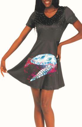 68061d3187 Ołówkowa sukienka z półrękawkami i a la prostokątnym dekoltem - Ceny ...